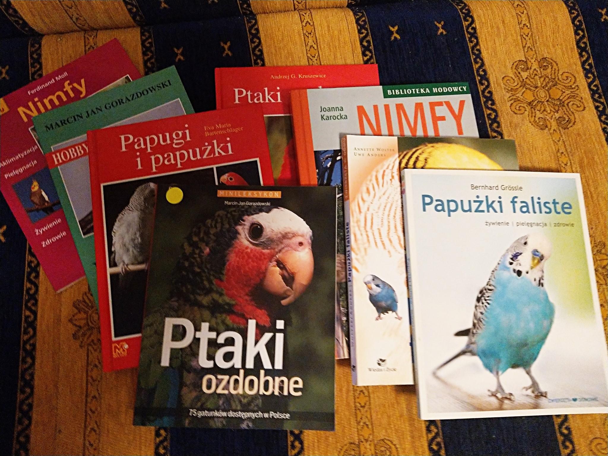 Książki o nimfach